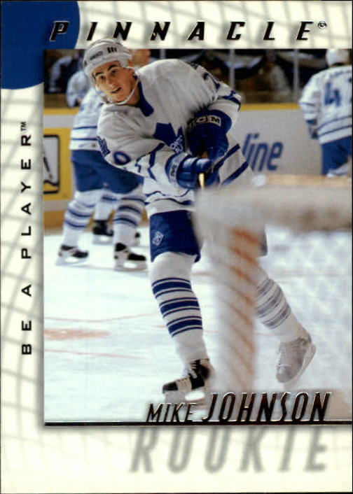 1997-98 Be A Player #218 Mike Johnson RC