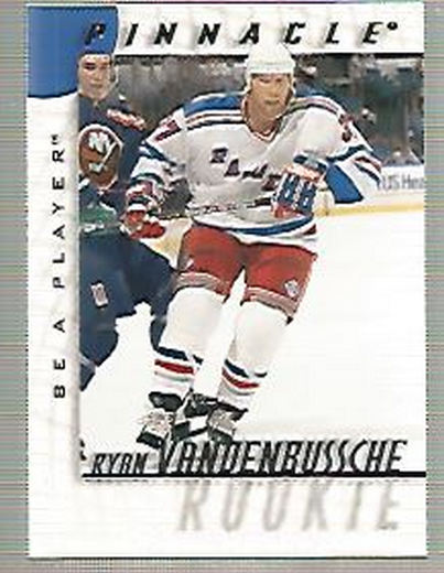 1997-98 Be A Player #223 Ryan Vandenbussche RC