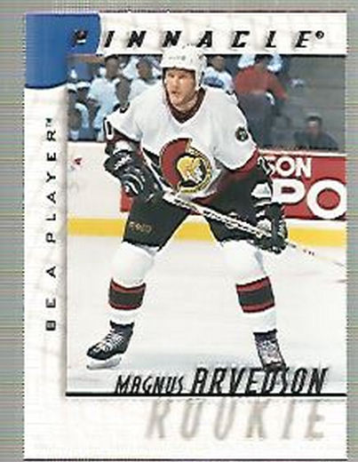 1997-98 Be A Player #225 Magnus Arvedson RC
