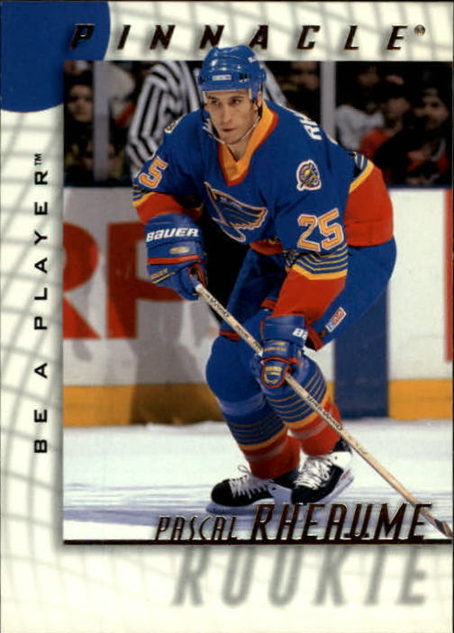 1997-98 Be A Player #227 Pascal Rheaume RC