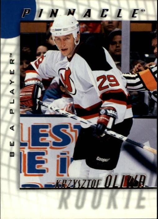 1997-98 Be A Player #229 Krzysztof Oliwa RC