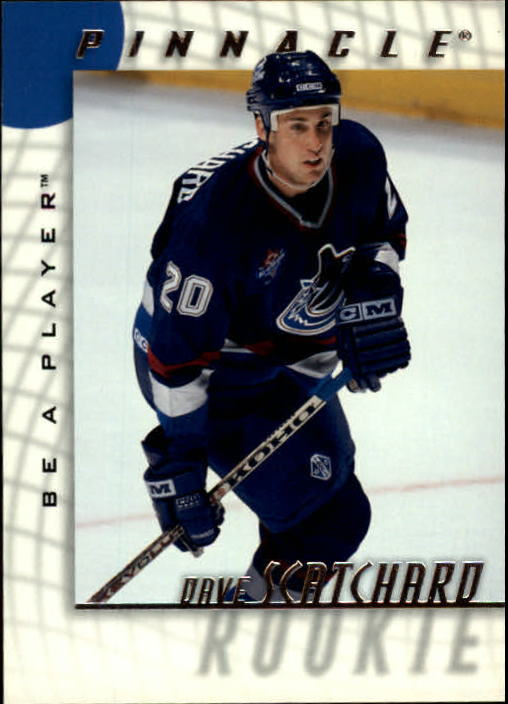 1997-98 Be A Player #234 Dave Scatchard RC