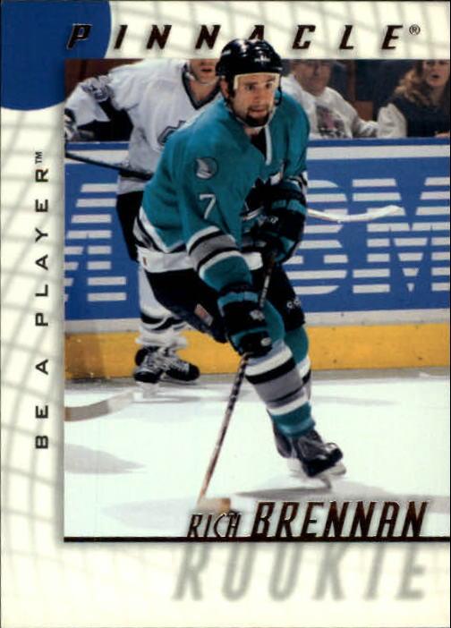 1997-98 Be A Player #236 Rich Brennan RC
