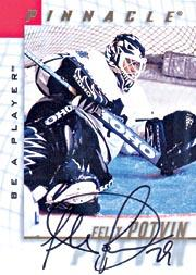 1997-98 Be A Player Autographs #4 Felix Potvin