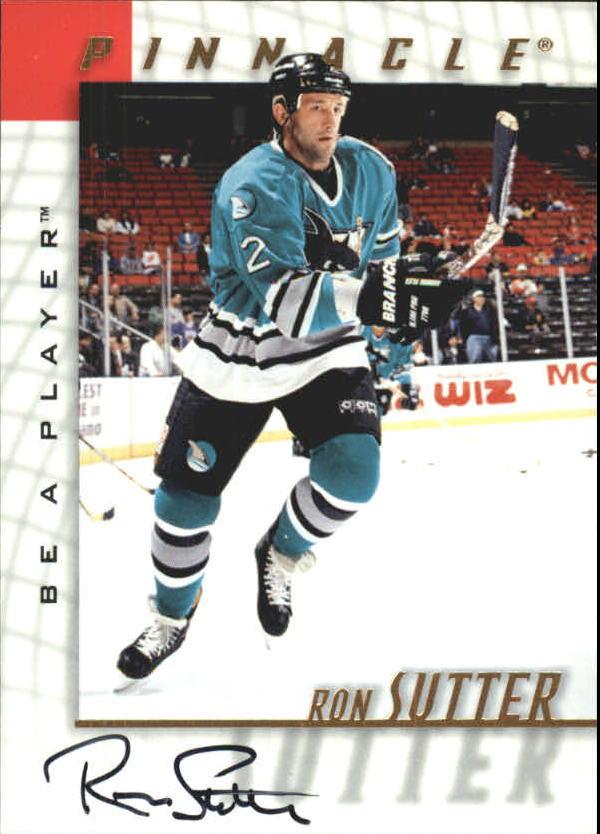 1997-98 Be A Player Autographs #106 Ron Sutter