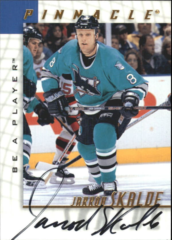 1997-98 Be A Player Autographs #198 Jarrod Skalde
