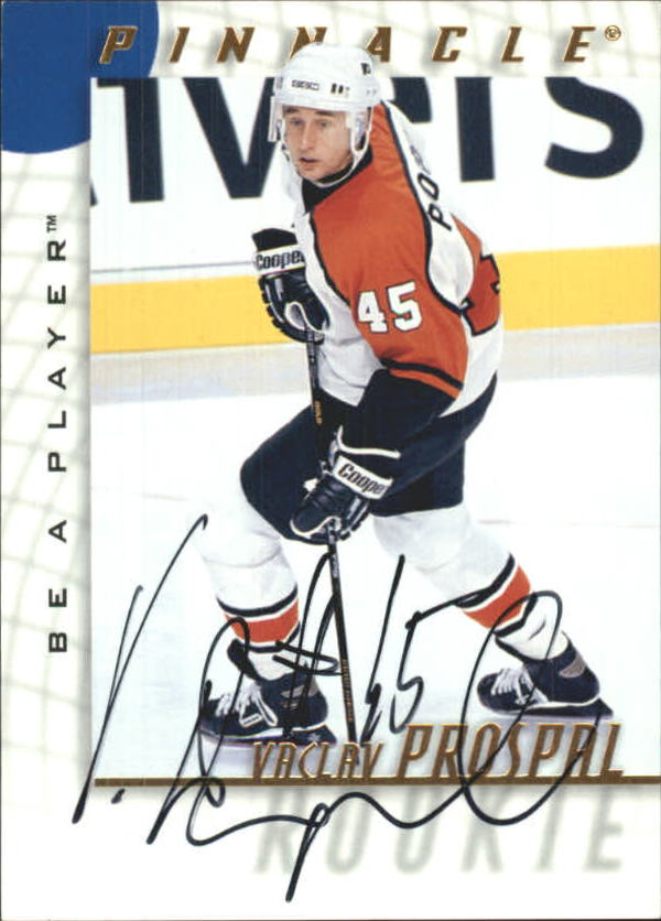1997-98 Be A Player Autographs #213 Vaclav Prospal