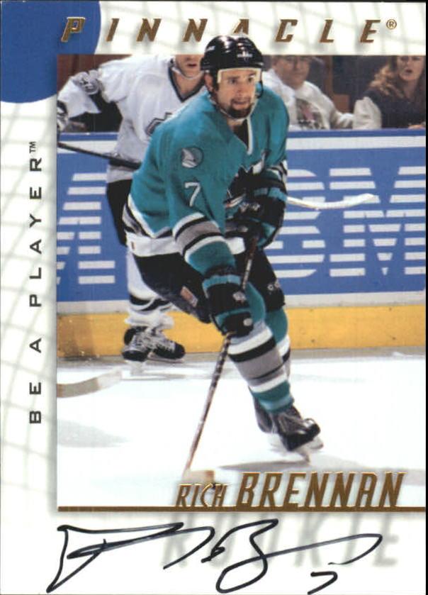 1997-98 Be A Player Autographs #236 Rich Brennan
