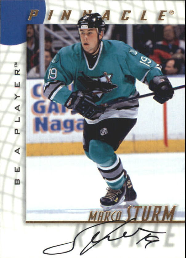 1997-98 Be A Player Autographs #243 Marco Sturm