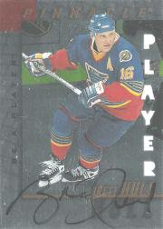 1997-98 Be A Player Autographs Die Cut #15 Brett Hull