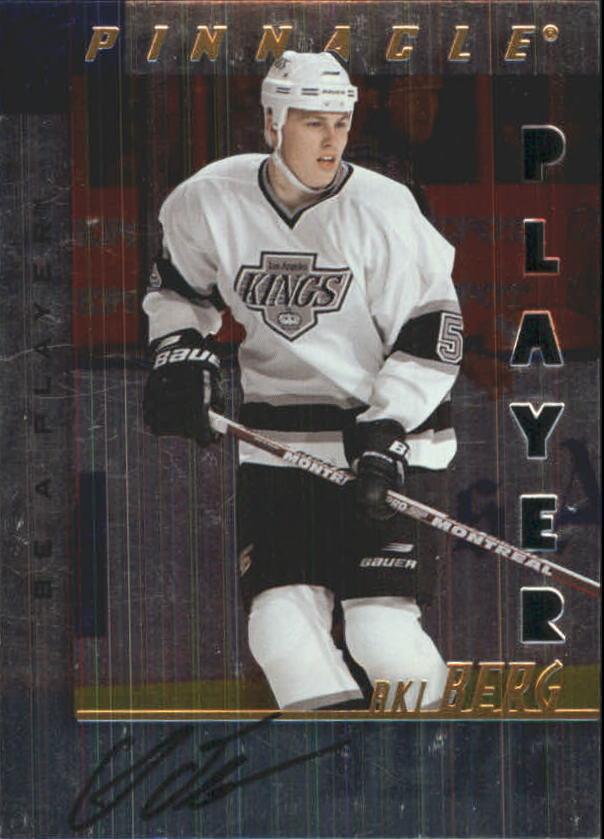 1997-98 Be A Player Autographs Die Cut #155 Aki Berg