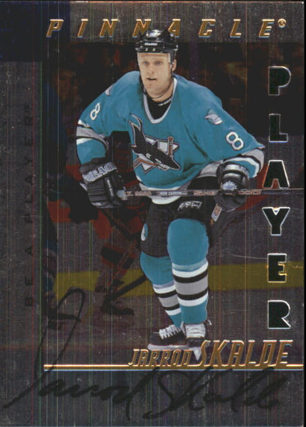 1997-98 Be A Player Autographs Die Cut #198 Jarrod Skalde