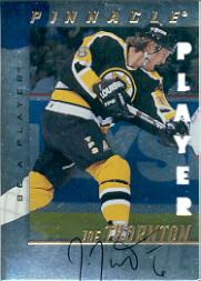 1997-98 Be A Player Autographs Die Cut #232 Joe Thornton