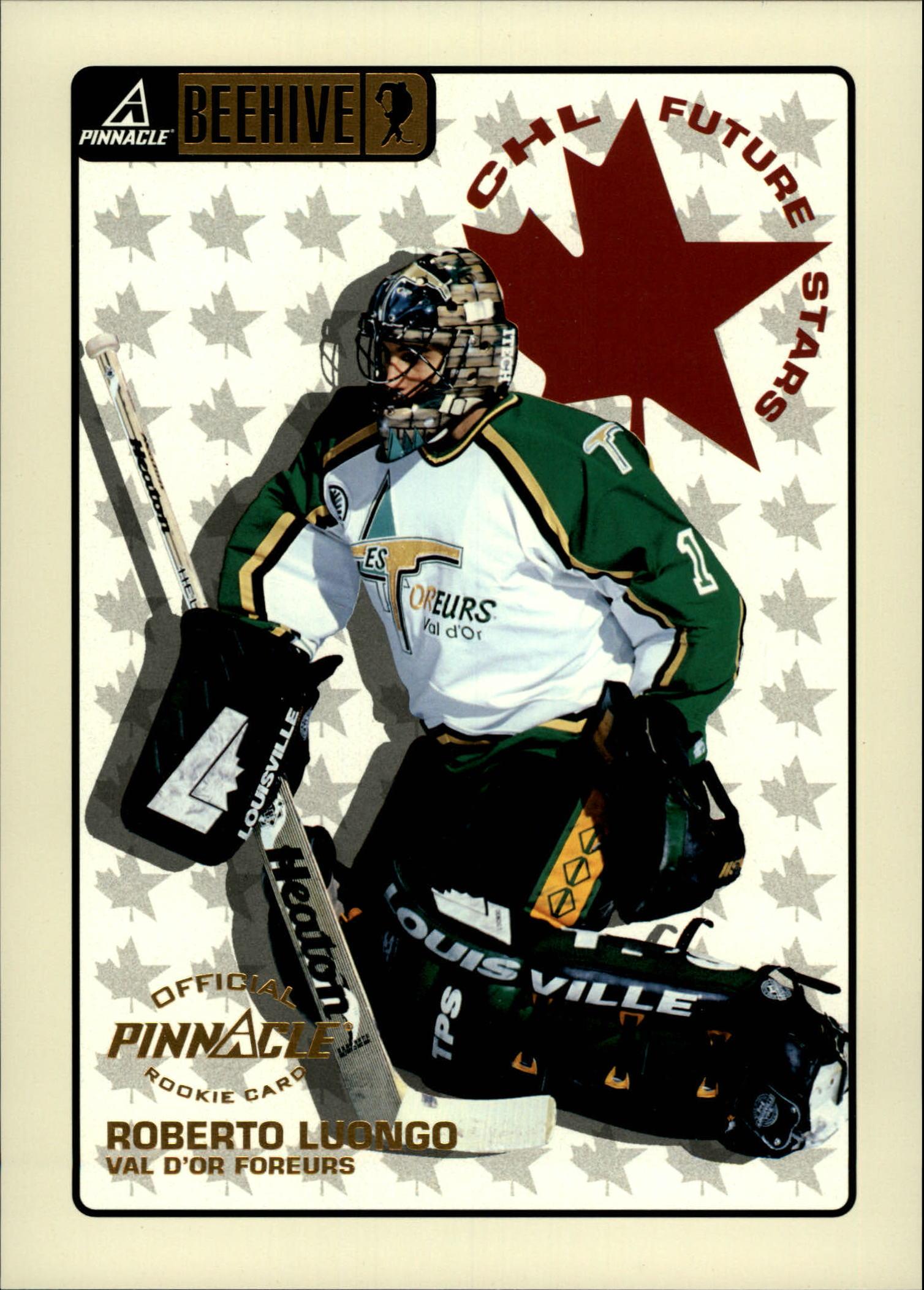 1997-98 Beehive #69 Roberto Luongo JLS RC