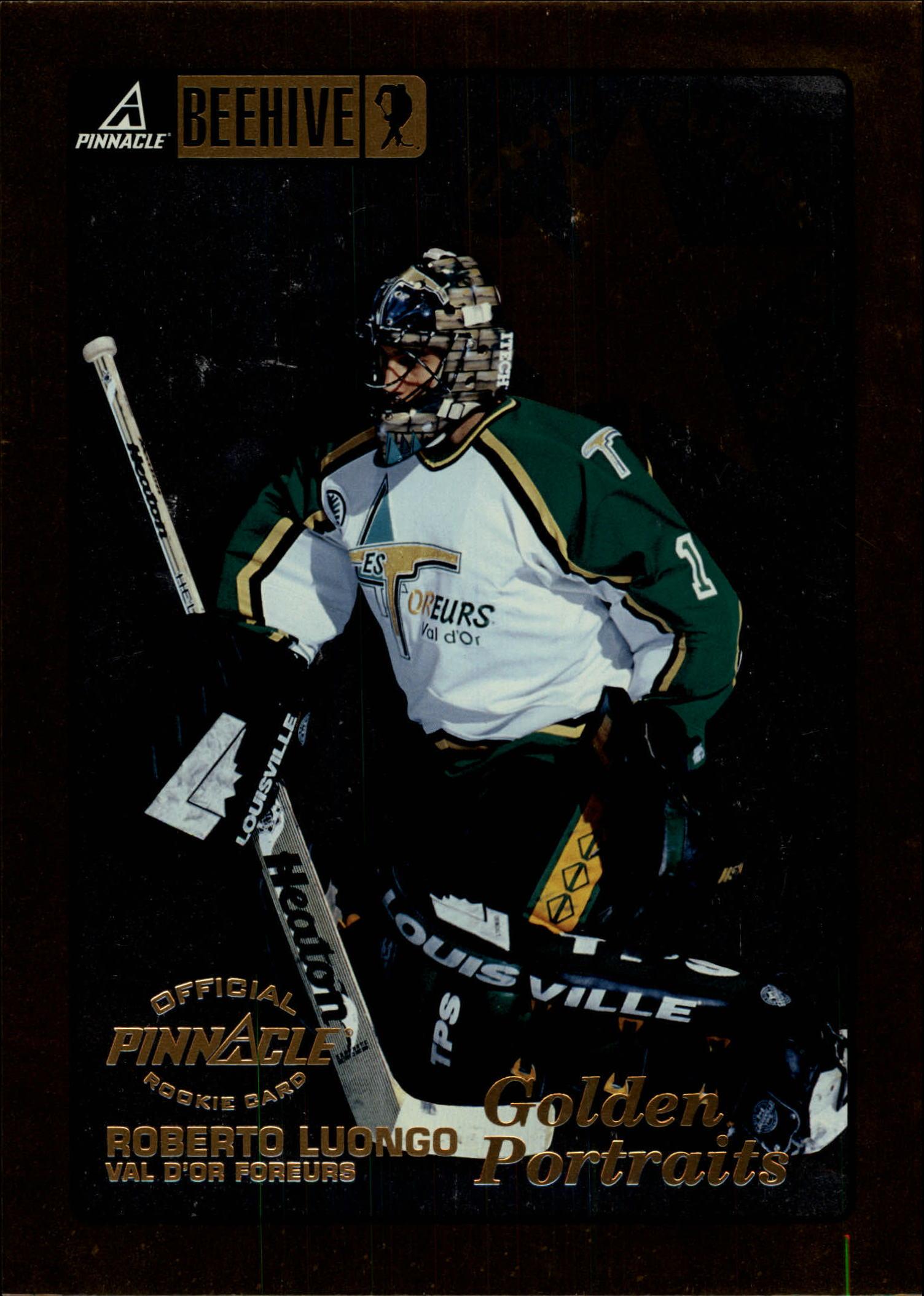 1997-98 Beehive Golden Portraits #69 Roberto Luongo JLS