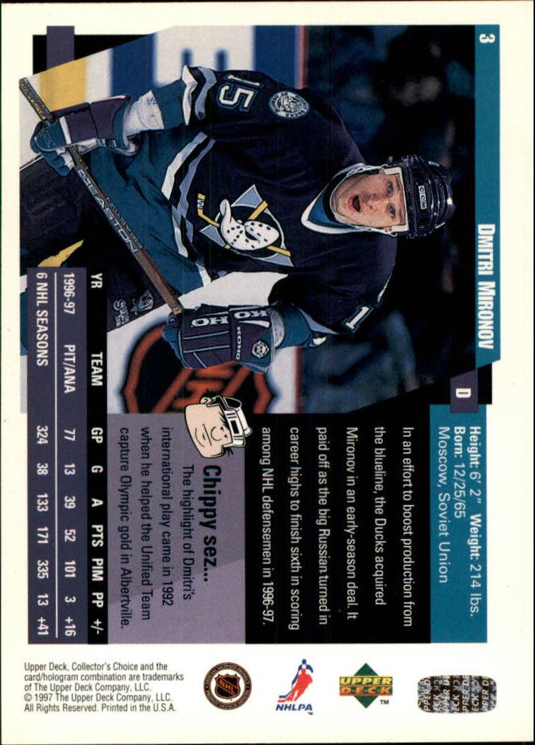 1997-98-Collector-039-s-Choice-Hockey-1-250-Your-Choice-GOTBASEBALLCARDS thumbnail 7