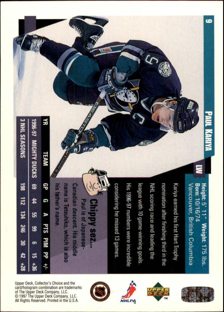 1997-98-Collector-039-s-Choice-Hockey-1-250-Your-Choice-GOTBASEBALLCARDS thumbnail 19