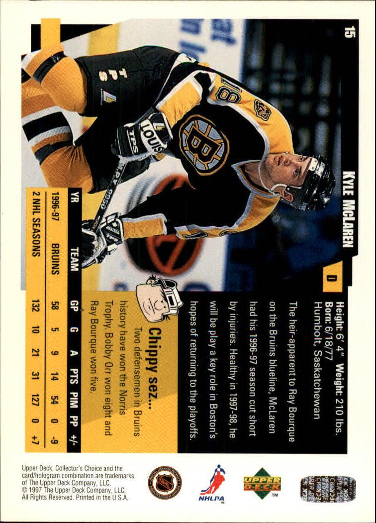 1997-98-Collector-039-s-Choice-Hockey-1-250-Your-Choice-GOTBASEBALLCARDS thumbnail 31