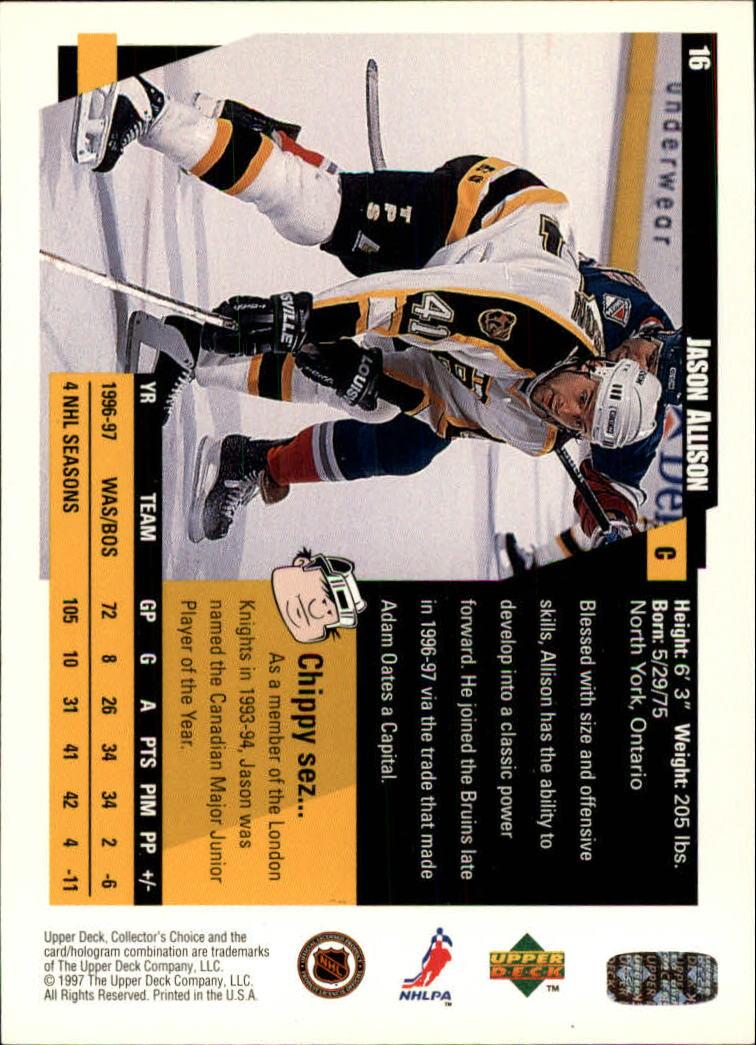 1997-98-Collector-039-s-Choice-Hockey-1-250-Your-Choice-GOTBASEBALLCARDS thumbnail 33
