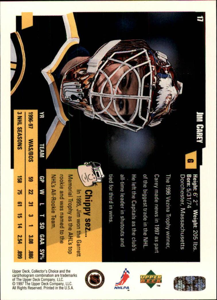 1997-98-Collector-039-s-Choice-Hockey-1-250-Your-Choice-GOTBASEBALLCARDS thumbnail 35
