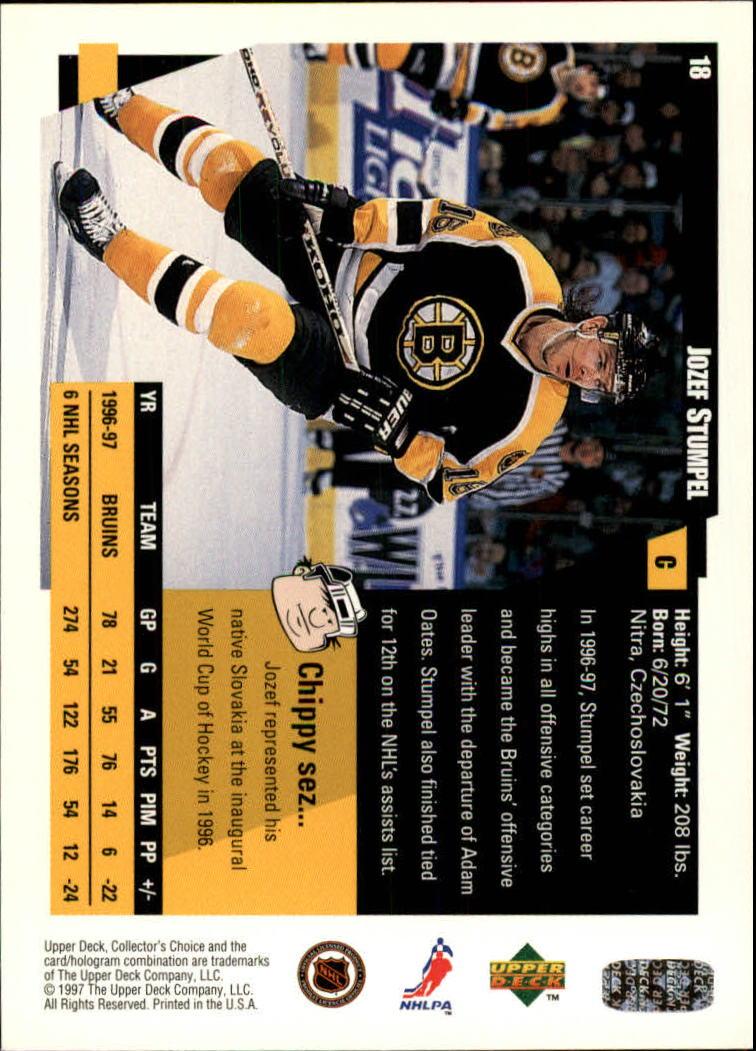 1997-98-Collector-039-s-Choice-Hockey-1-250-Your-Choice-GOTBASEBALLCARDS thumbnail 37