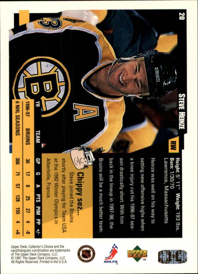 1997-98-Collector-039-s-Choice-Hockey-1-250-Your-Choice-GOTBASEBALLCARDS thumbnail 41