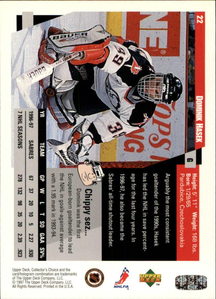 1997-98-Collector-039-s-Choice-Hockey-1-250-Your-Choice-GOTBASEBALLCARDS thumbnail 43
