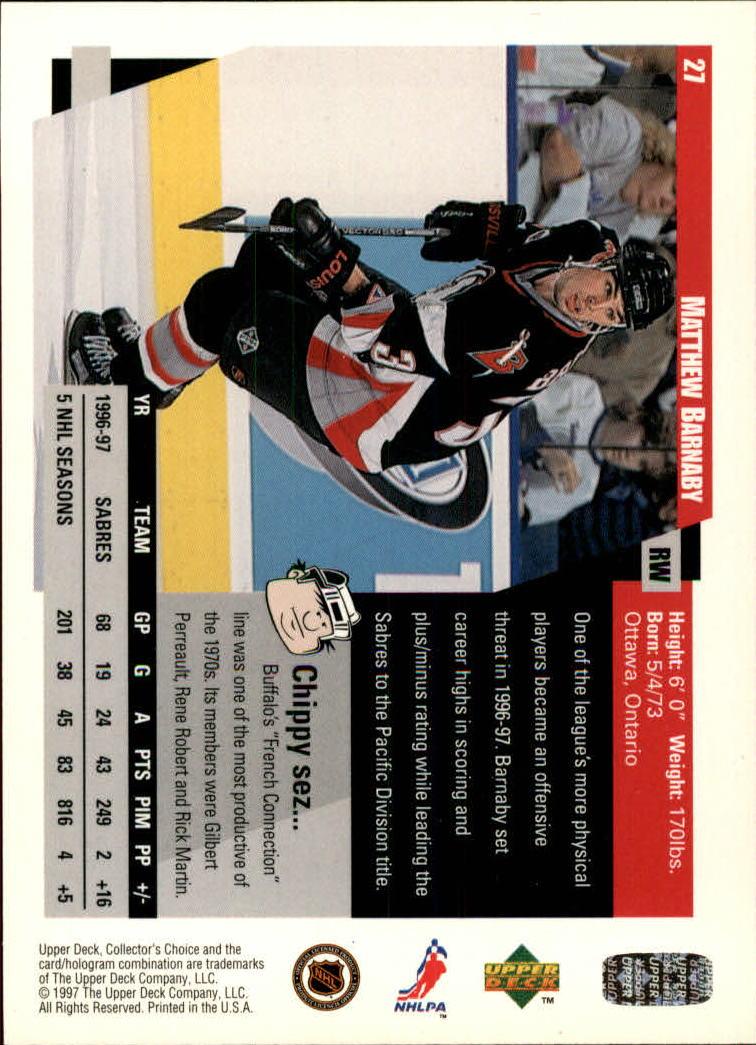 1997-98-Collector-039-s-Choice-Hockey-1-250-Your-Choice-GOTBASEBALLCARDS thumbnail 53