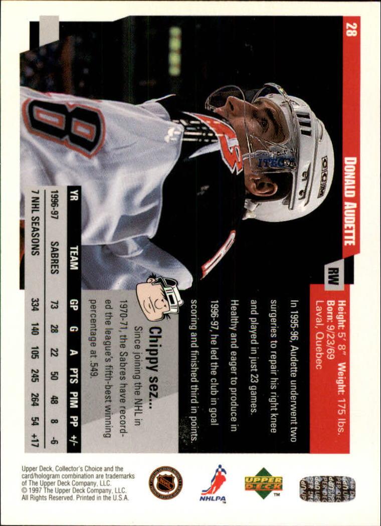 1997-98-Collector-039-s-Choice-Hockey-1-250-Your-Choice-GOTBASEBALLCARDS thumbnail 55