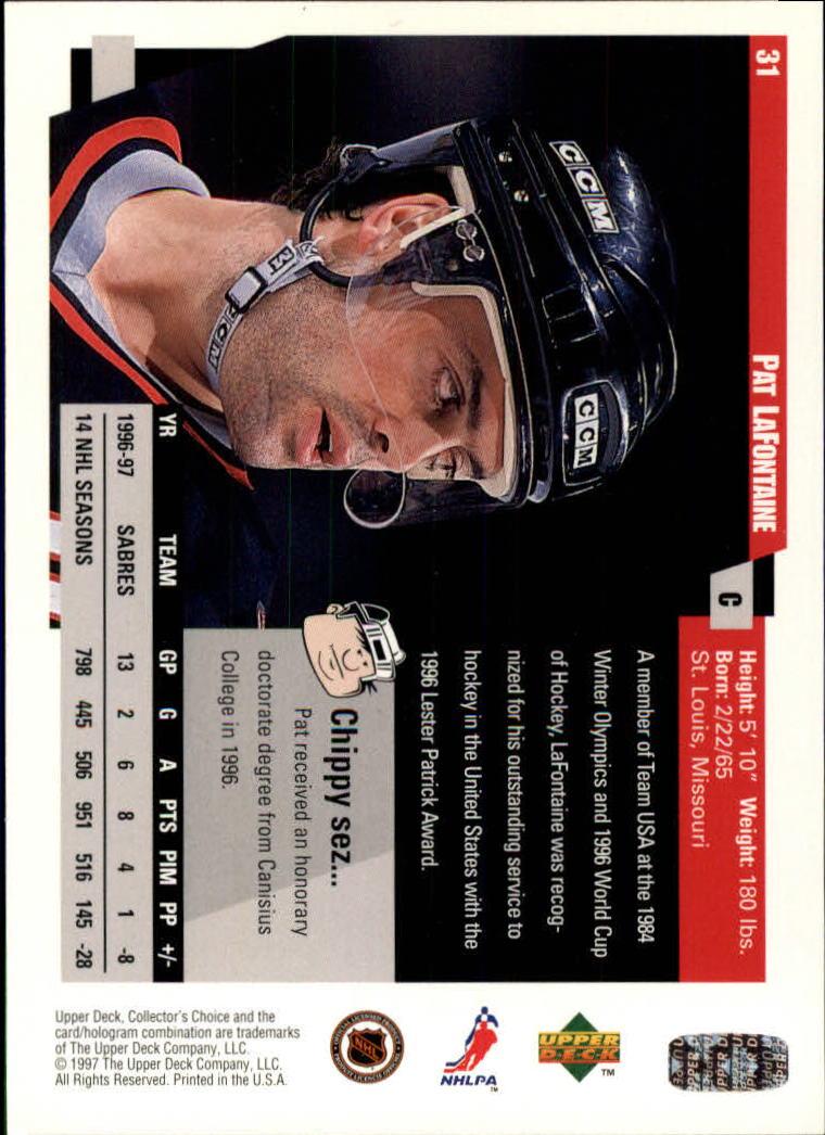 1997-98-Collector-039-s-Choice-Hockey-1-250-Your-Choice-GOTBASEBALLCARDS thumbnail 59
