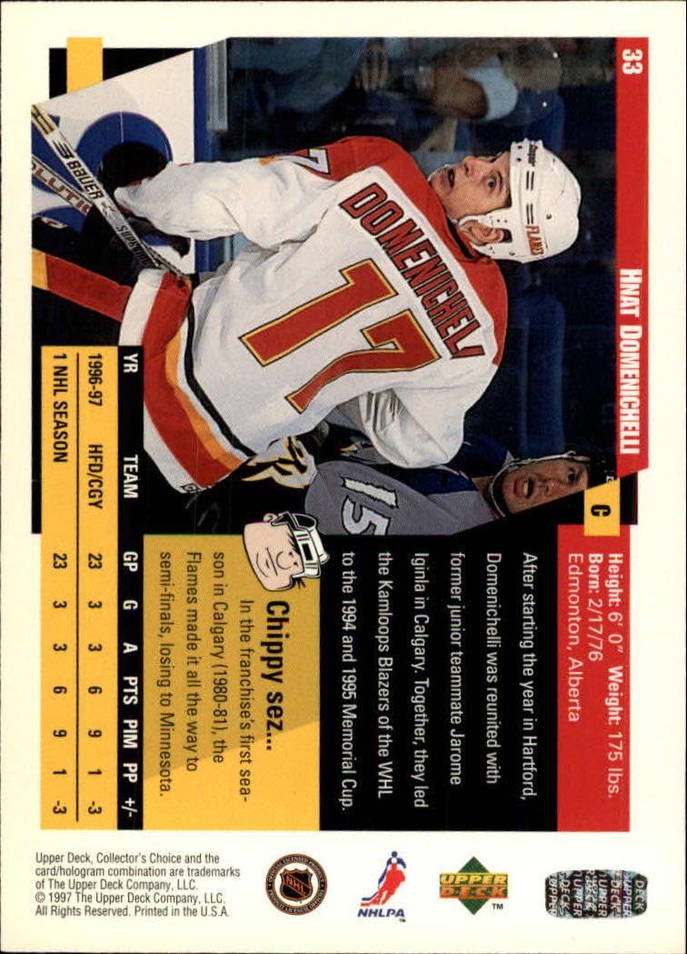 1997-98-Collector-039-s-Choice-Hockey-1-250-Your-Choice-GOTBASEBALLCARDS thumbnail 63