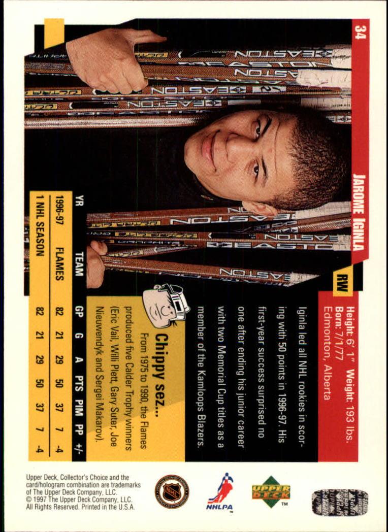 1997-98-Collector-039-s-Choice-Hockey-1-250-Your-Choice-GOTBASEBALLCARDS thumbnail 65