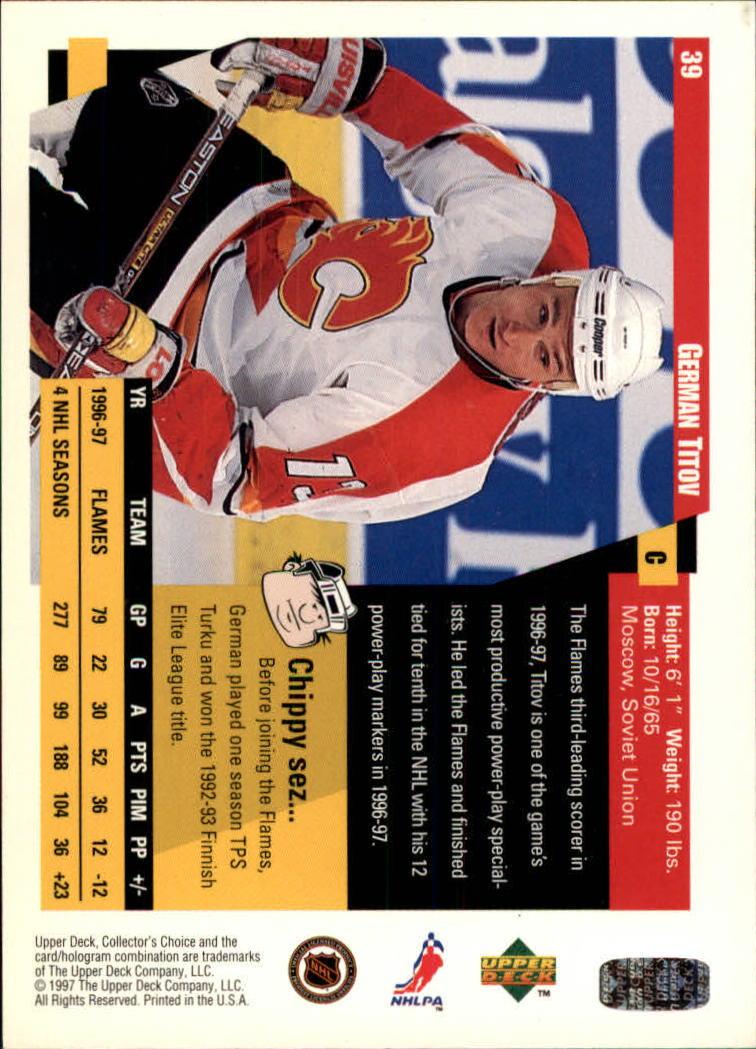 1997-98-Collector-039-s-Choice-Hockey-1-250-Your-Choice-GOTBASEBALLCARDS thumbnail 75