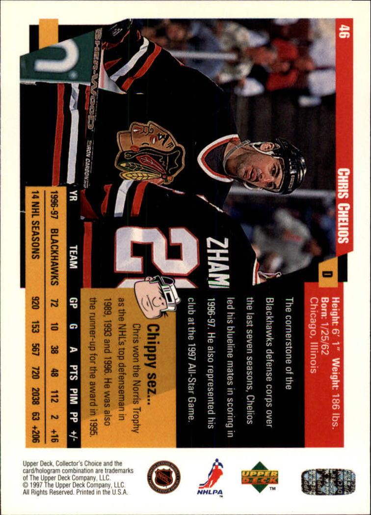 1997-98-Collector-039-s-Choice-Hockey-1-250-Your-Choice-GOTBASEBALLCARDS thumbnail 89
