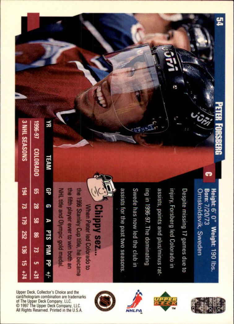 1997-98-Collector-039-s-Choice-Hockey-1-250-Your-Choice-GOTBASEBALLCARDS thumbnail 105
