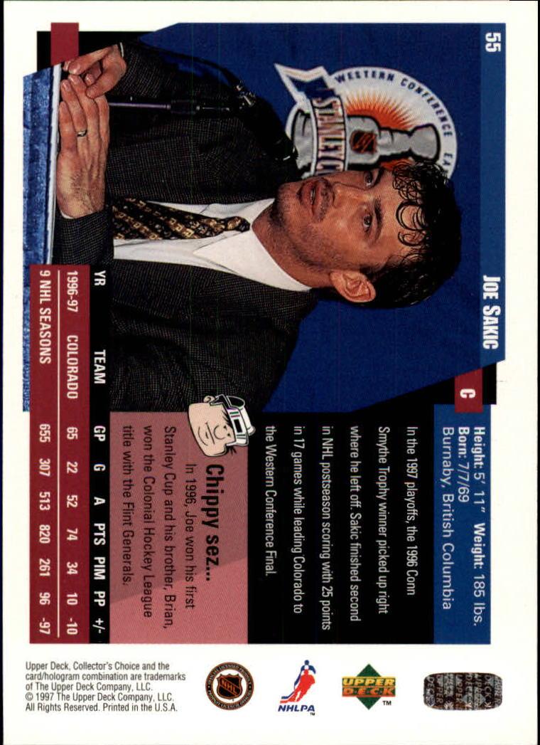 1997-98-Collector-039-s-Choice-Hockey-1-250-Your-Choice-GOTBASEBALLCARDS thumbnail 107