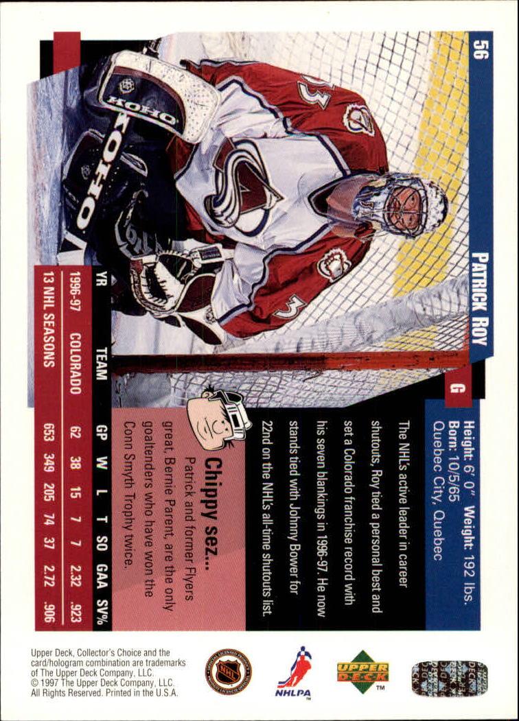 1997-98-Collector-039-s-Choice-Hockey-1-250-Your-Choice-GOTBASEBALLCARDS thumbnail 109