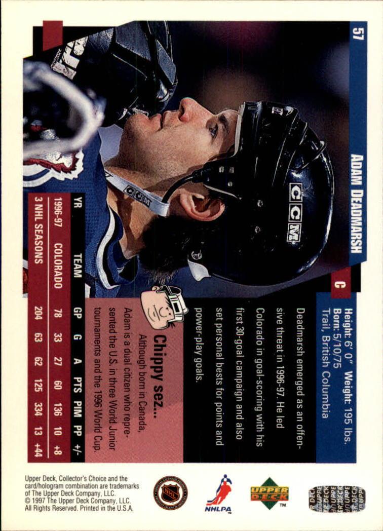 1997-98-Collector-039-s-Choice-Hockey-1-250-Your-Choice-GOTBASEBALLCARDS thumbnail 111