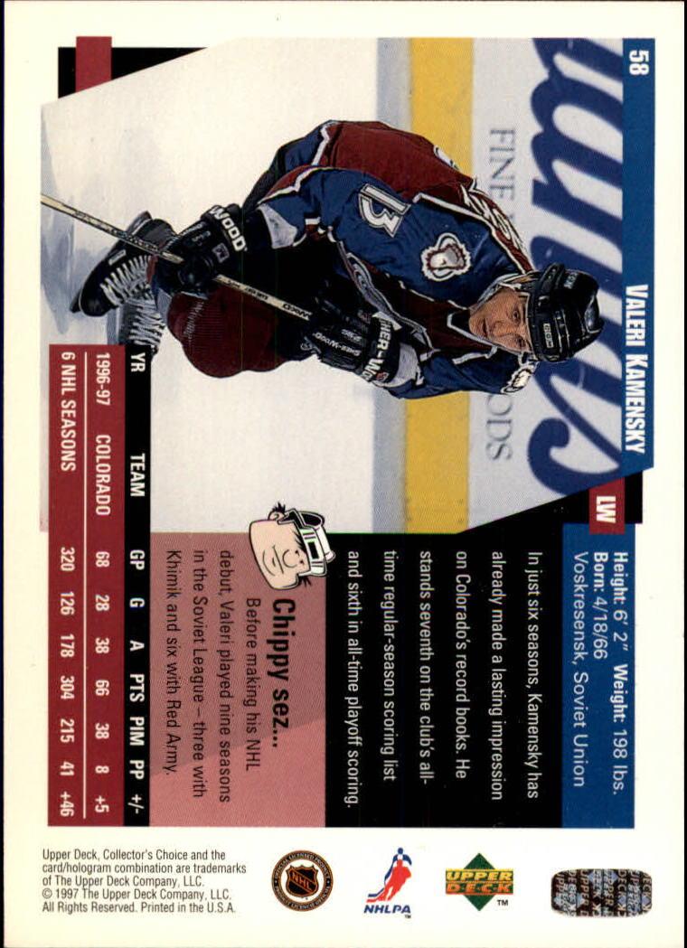 1997-98-Collector-039-s-Choice-Hockey-1-250-Your-Choice-GOTBASEBALLCARDS thumbnail 113