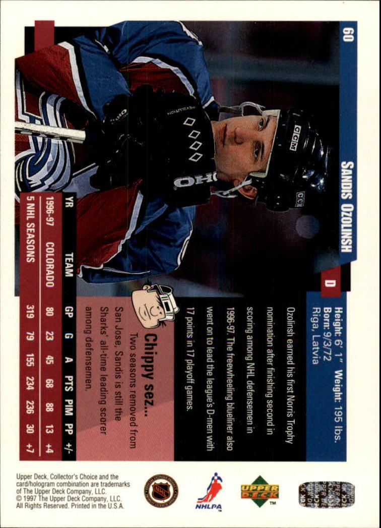 1997-98-Collector-039-s-Choice-Hockey-1-250-Your-Choice-GOTBASEBALLCARDS thumbnail 117