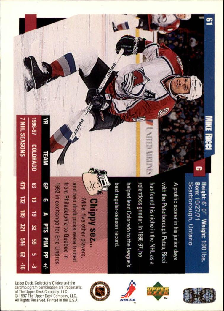 1997-98-Collector-039-s-Choice-Hockey-1-250-Your-Choice-GOTBASEBALLCARDS thumbnail 119