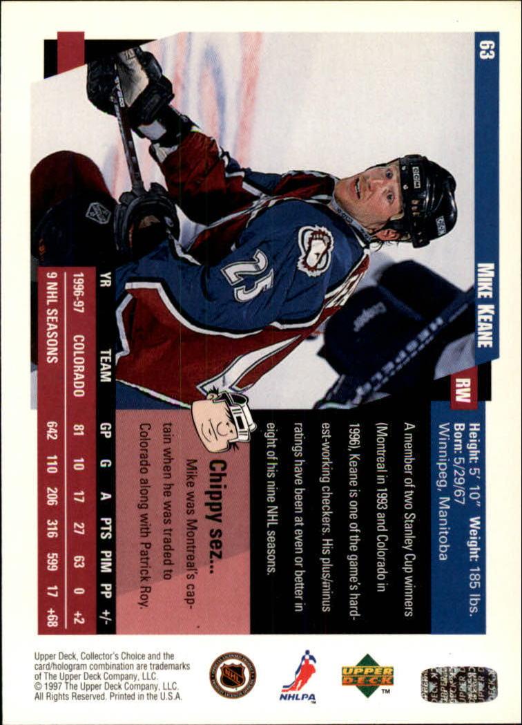 1997-98-Collector-039-s-Choice-Hockey-1-250-Your-Choice-GOTBASEBALLCARDS thumbnail 123