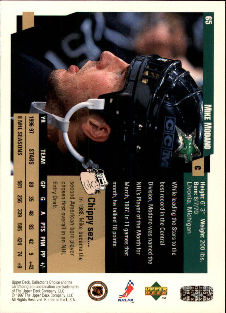 1997-98-Collector-039-s-Choice-Hockey-1-250-Your-Choice-GOTBASEBALLCARDS thumbnail 127