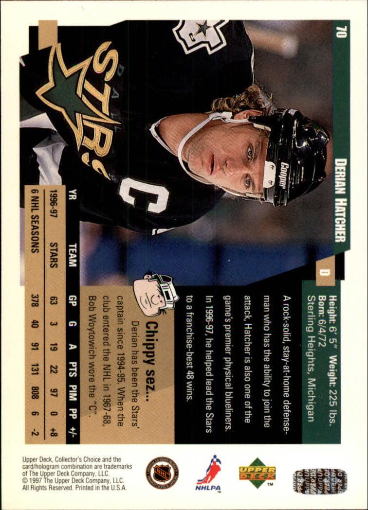1997-98-Collector-039-s-Choice-Hockey-1-250-Your-Choice-GOTBASEBALLCARDS thumbnail 137