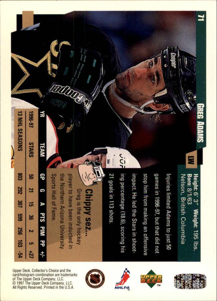 1997-98-Collector-039-s-Choice-Hockey-1-250-Your-Choice-GOTBASEBALLCARDS thumbnail 139