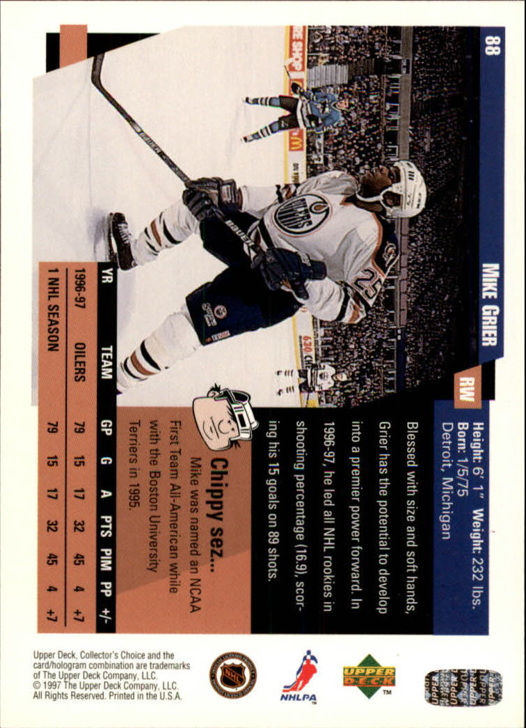 1997-98-Collector-039-s-Choice-Hockey-1-250-Your-Choice-GOTBASEBALLCARDS thumbnail 159
