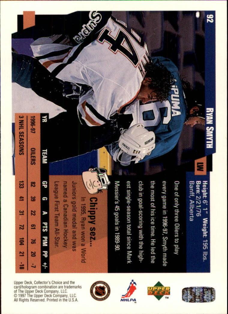 1997-98-Collector-039-s-Choice-Hockey-1-250-Your-Choice-GOTBASEBALLCARDS thumbnail 165
