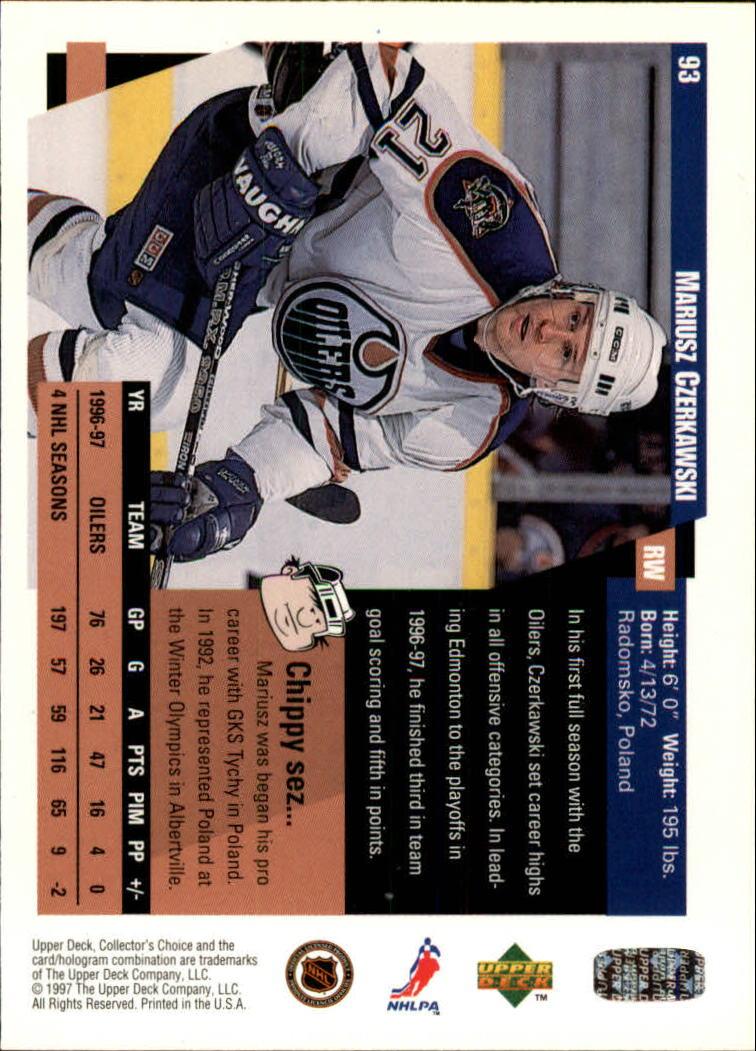 1997-98-Collector-039-s-Choice-Hockey-1-250-Your-Choice-GOTBASEBALLCARDS thumbnail 167