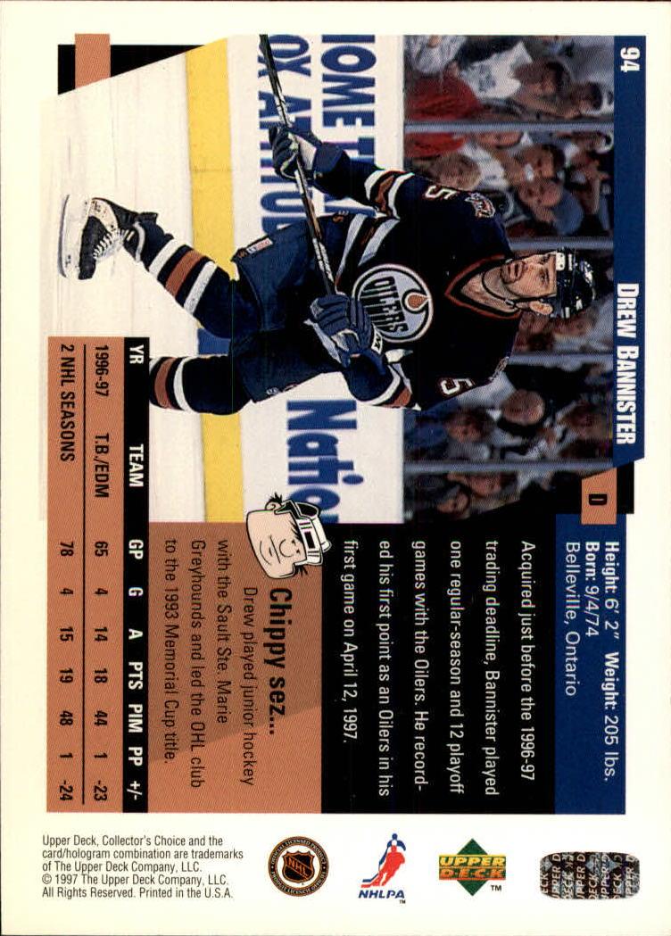 1997-98-Collector-039-s-Choice-Hockey-1-250-Your-Choice-GOTBASEBALLCARDS thumbnail 169