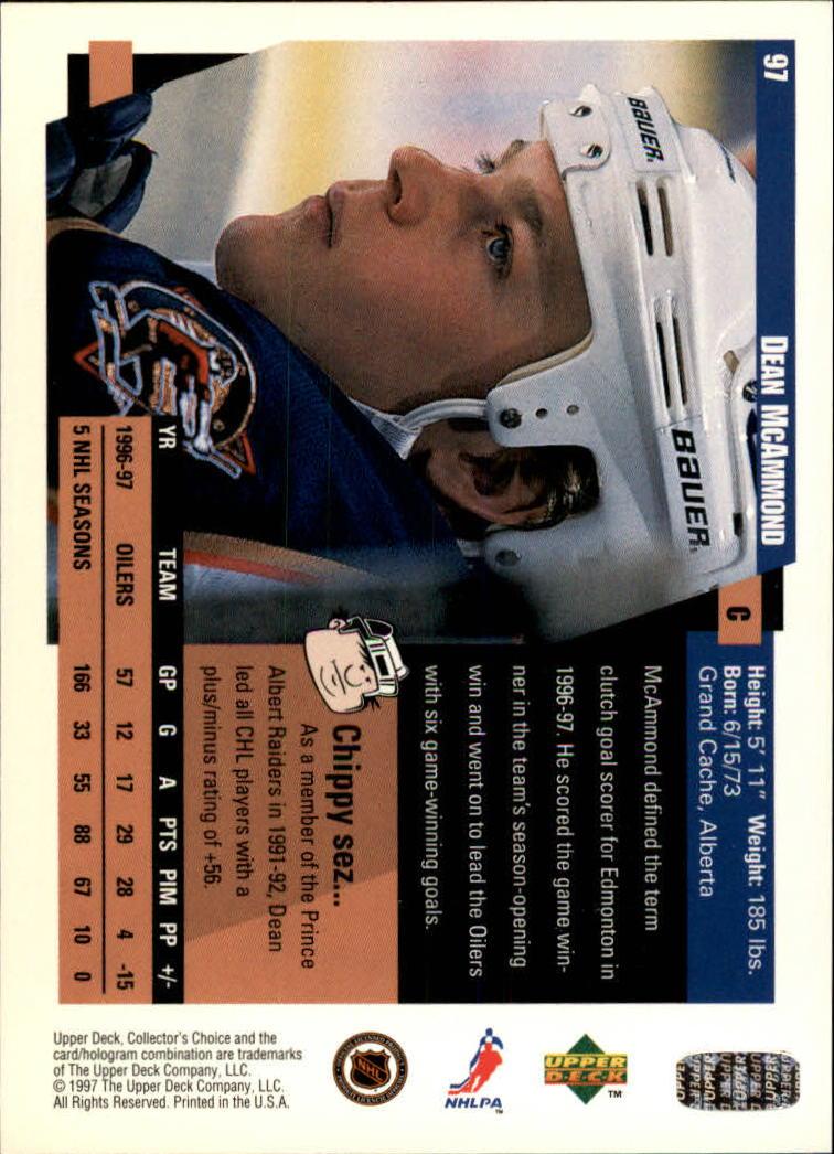 1997-98-Collector-039-s-Choice-Hockey-1-250-Your-Choice-GOTBASEBALLCARDS thumbnail 175